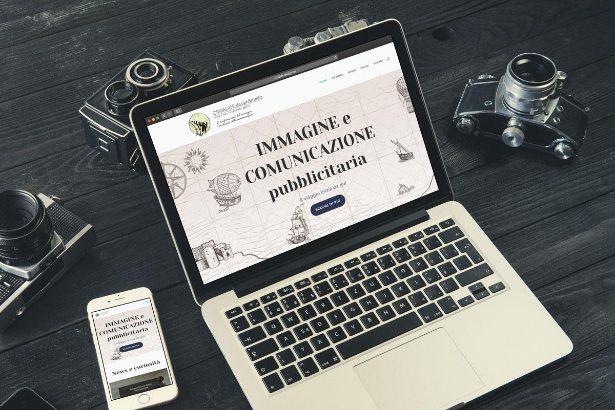 nuovo sito web ideato e sviluppato da Crisalide design&media: sviluppo siti web, e-commerce, logo, immagine coordinata, campagne marketing, libri e cataloghi